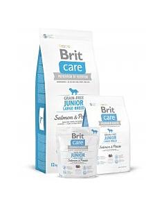 Brit Care Junior Large Breed Salmon&Potato / 3kg