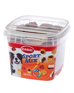 Sanal Sport Mix maiused koertele kana ja loomalihaga / 100g