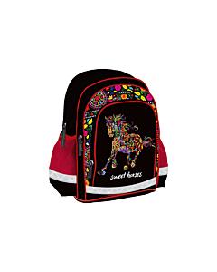 Seljakott Sweet Horses / 3 taskut