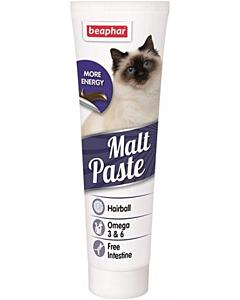 Beaphar Malt- Paste Plus Omega 6 / karvapallide vastane linnasepasta kassidele / 100 gr