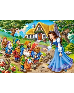 Pusle Castorland Snow White and the Seven Dwarves 32x23cm / 120tk /LM