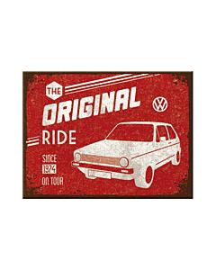 Magnet  / VW Golf The Original Ride