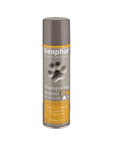 Beaphar Premium Shampooing Foam Mousse / tsitruselõhnaline shampoonvaht Aloe Veraga, 250 ml