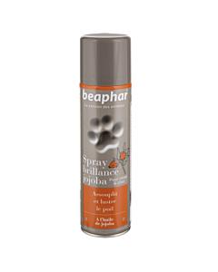 Beaphar Premium Shiny Coat Spray Jojoba / jojobaõliga sprei karvastiku pehmendamiseks ja taaselustamiseks, 250 ml