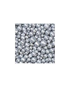 Dekoratiivpärlid Hõbe / 4-8mm / 350ml / LM