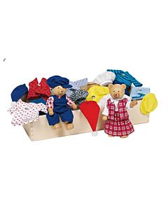 Мишки Teddy с комплектом одежды