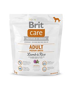Brit Care Adult Medium Breed Lamb & Rice / 1kg