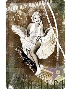 Металлический декоративный постер / Old Highland Whisky / 20x30см