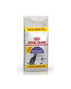 Royal Canin FHN Sterilised 37 kassitoit steriliseeritud kassile / 10kg + 2kg