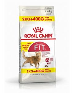 Royal Canin FHN Regular Fit32 kassitoit / 2kg + 400g