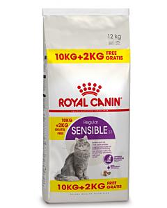 Royal Canin FHN Sensible33 kassitoit / 10kg +2kg