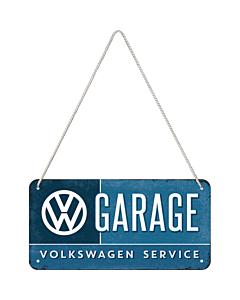 Metallplaat 10x20 cm / VW Garage