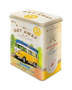 Metallpurk L / 3D VW Bulli let's get away