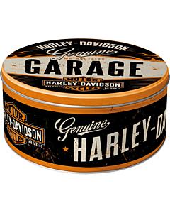 #Metallpurk ümar / L 3D Harley-Davidson Garage