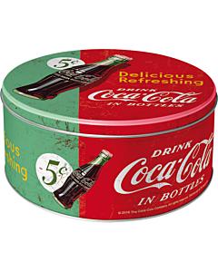 Metallpurk ümar / L 3D Coca-Cola Delicious Refreshing