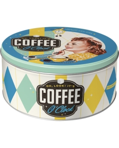 Жестяная коробка / L 3D Coffee O'Clock