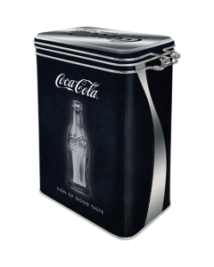 Säilituspurk sulguriga / Coca Cola - Sign of Good Taste