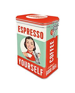 Metallpurk / M / Espresso Yourself