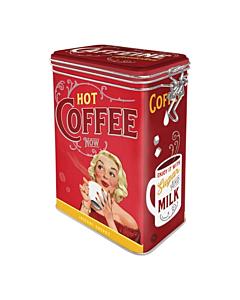 Säilituspurk sulguriga / Hot Coffee Now