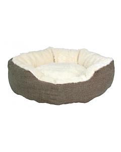 Koera magamiskoht Yuma / 45cm / pruun, valge
