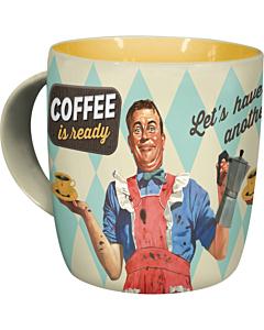 Кружка Coffee is ready