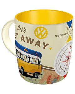 Кружка VW Bulli Let's Get Away