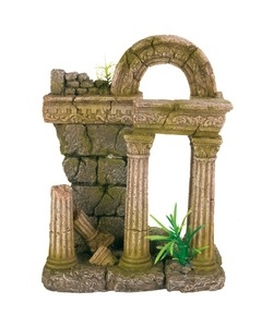 Akvaariumi dekoratsioon Rooma varemed III
