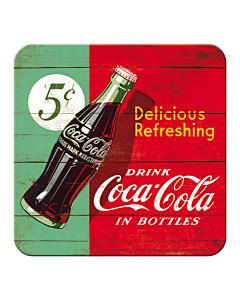 Retro klaasialus / 1tk / Coca-Cola Delicious Refreshing / LM