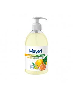 Mayeri vedelseep + balsam Citrus & Olive / 500ml /LM