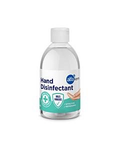AlfaKem Geeljas käte desinfektant / kasutusvalmis / 500ml /LM