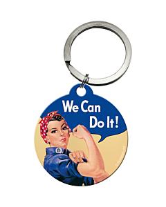 #Võtmehoidja / ümar / We Can Do It!