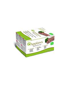 Applaws Cat Multi Pack Chicken Lamb & Salmon pasteet / 7x100g