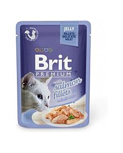 Brit Premium lõhe filee tarrendis / 85g