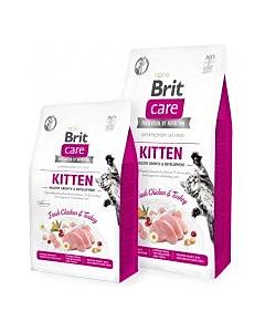 Brit Care Cat GF Kitten Healthy Growth  / 2kg