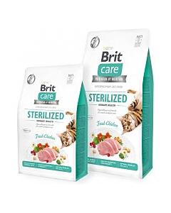 Brit Care Cat Grain-Free Sterilized Urinary Health kassitoit / 2kg