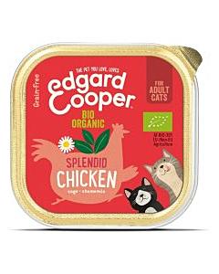 Edgard Cooper konserv kassidele / orgaaniline kana / 85g