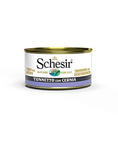 Schesir konserv kassidele / tuunikala+kiviahven / 85g