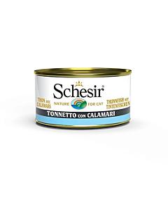 Schesir konserv kassidele / tuunikala+kalmaar / 5x85g