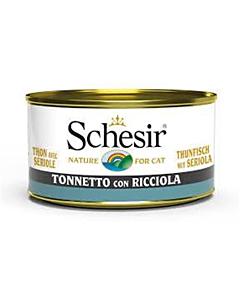 Schesir konserv kassidele / tuunikala+hiidseriool / 85g
