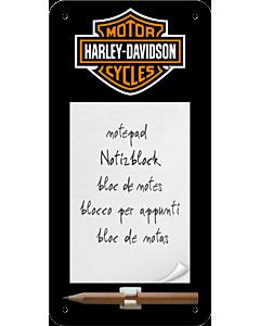 Magnetiga kirjaplokk / Harley-Davidson logo / LM