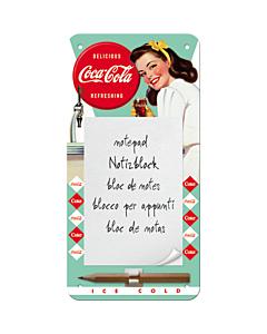 Magnetiga kirjaplokk / Coca-Cola Ice cold