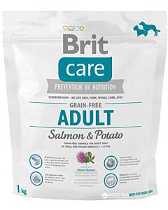 Brit Care Adult Grain-Free Salmon & Potato / 1kg