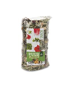 PUUR Pauze Hay Roll Hibiskus ja mint närilistele / 200g