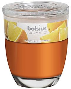 Lõhnaküünal / 55h / klaasis / apelsin