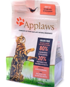 Applaws Natural Complete Adult Cat Chicken & Salmon kassitoit / 400g