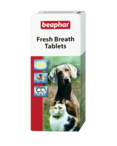 Beaphar Fresh Breath suuvärskendustabeltid klorofülliga koertele ja kassidele
