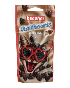 Beaphar Malt-Hearts Anti-Hairball karvapallide vastane maius