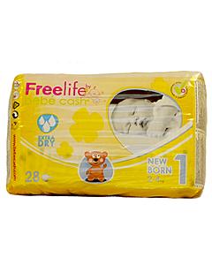 Lastemähkmed Freelife Baby Newborn / 2-4 kg / 28tk / LM