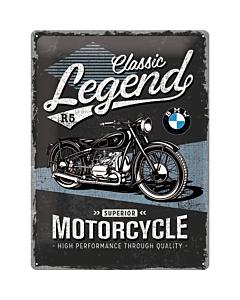 Metallplaat 30x40cm / BMW Classic Legend