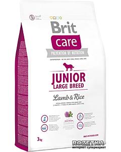Brit Care Junior Large Breed Lamb&Rice / 3kg